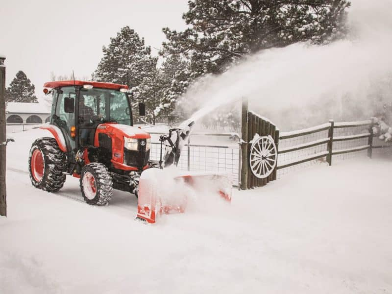 L3560 Cab Snow Blower